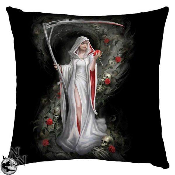 NEMESIS NOW Gothic Life Blood Cushion by Anne Stokes